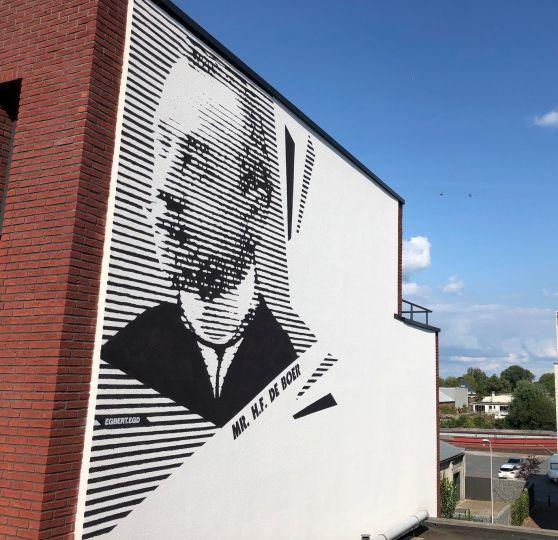 Portret Mr. H.F. de Boer