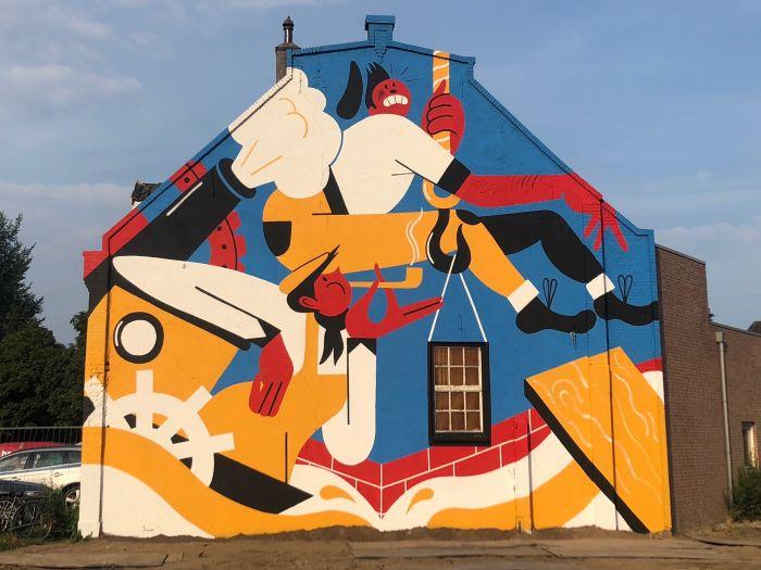 Deventer 1250 Mural